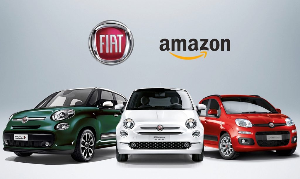 Fiat e Amazon