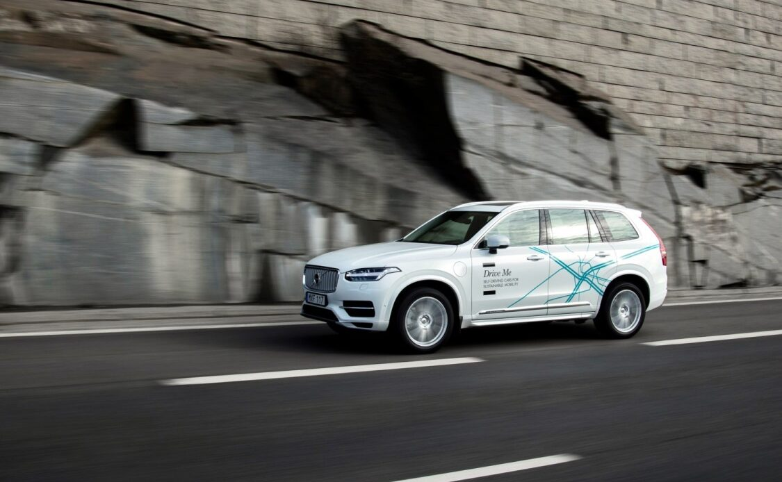 Volvo XC90 Drive Me By Uber