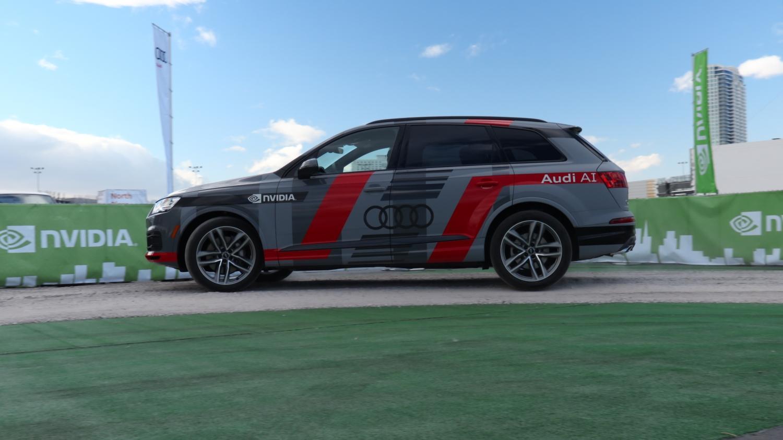 Nvdia e Audi Q7