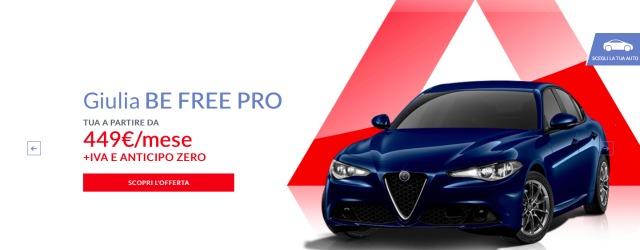 Alfa Romeo Giulia Be-Free Pro