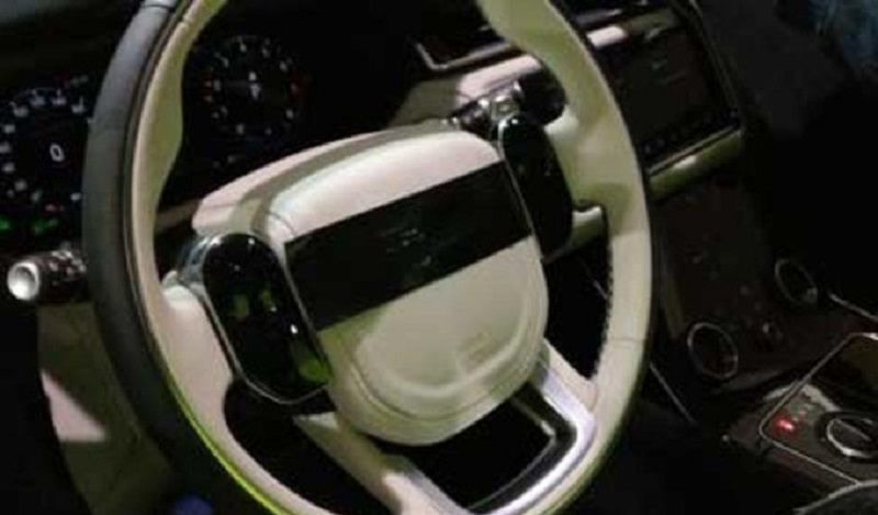 Range Rover Velar interni