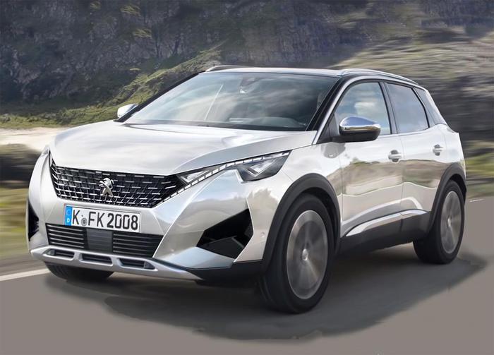 Peugeot 2008 render