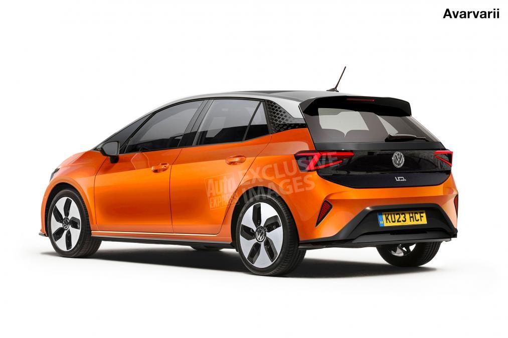 Volkswagen polo elettrica