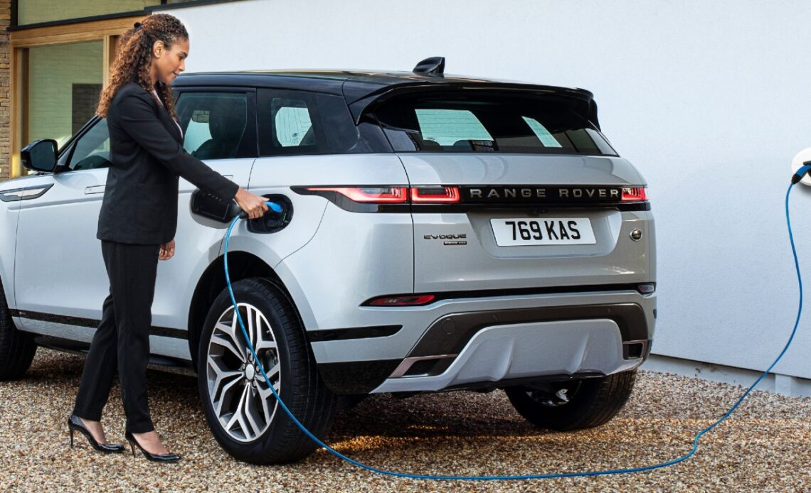 Range Rover Evoque Ibrido Plug-in