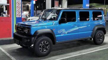 Suzuki Jimny a 5 porte