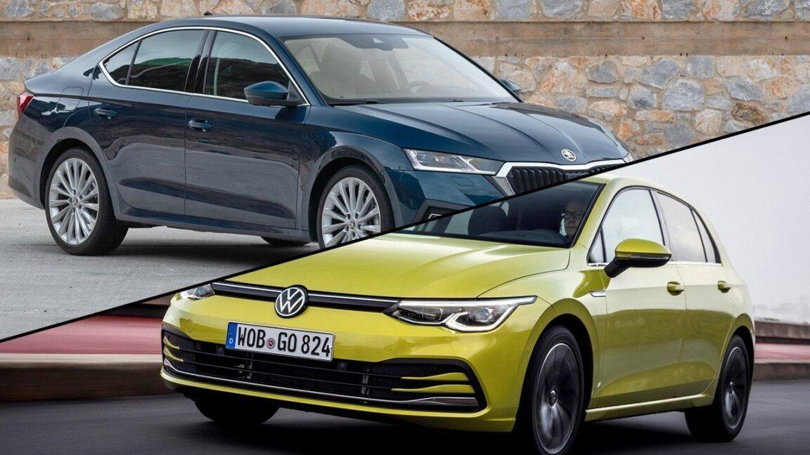Volkswagen Golf e Skoda Octavia