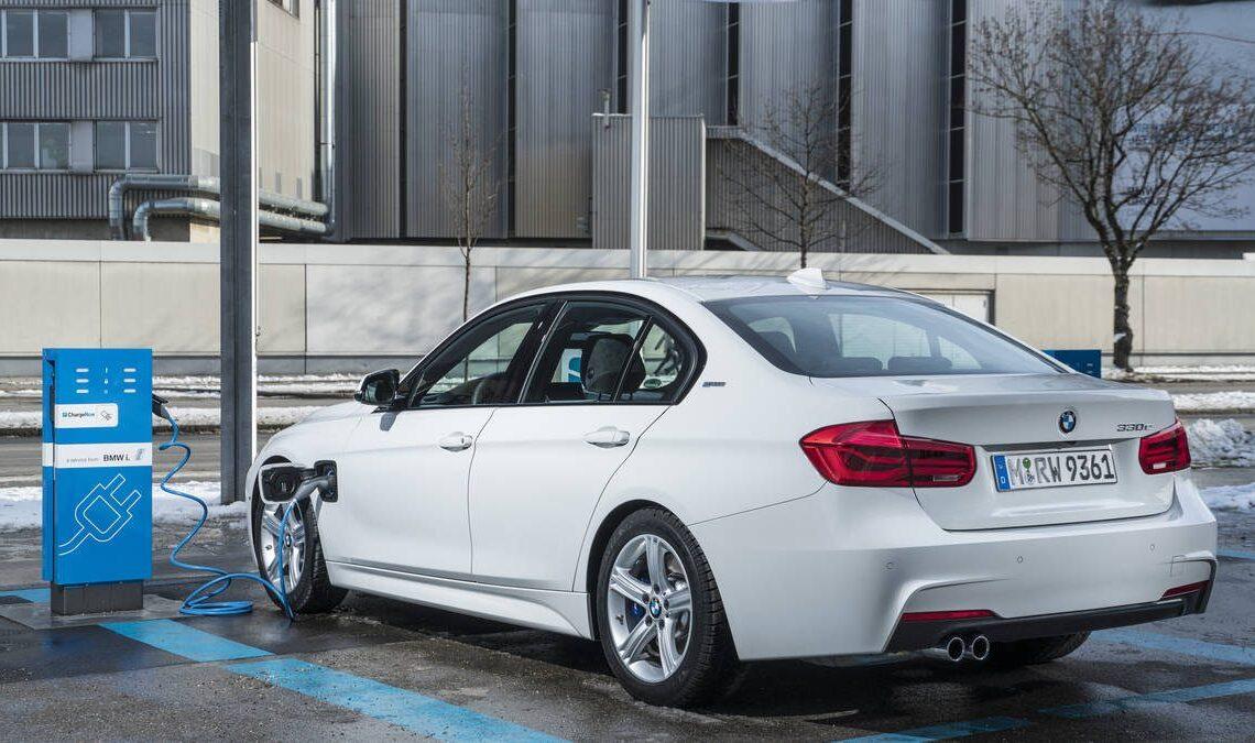 BMW Serie 3 elettrica