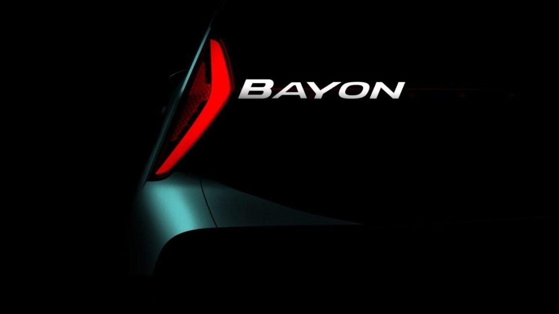 Hyundai Motor ha rivelato il nome di un nuovo modello di SUV crossover: Hyundai Bayon