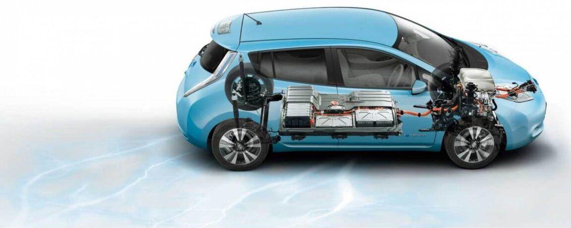 Batteria auto elettrica