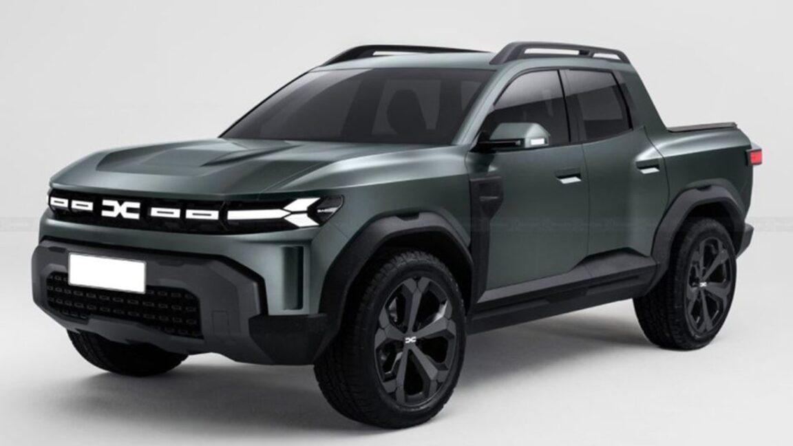 Dacia Bigster pick-up