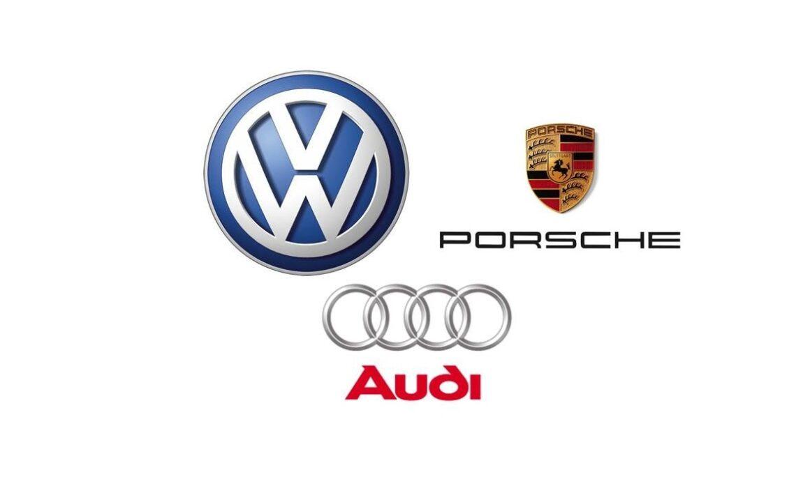 Porsche, Audi e Volkswagen