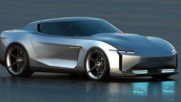 Ford Mustang E1: e se nel 2030 fosse così?