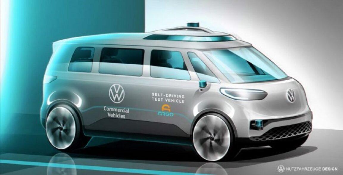 Volkswagen ID.Buzz verrà lanciata nel 2025 con Argo AI Self-Driving Tech