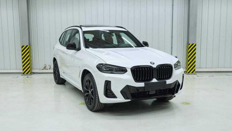 """BMW X3 e iX3 2022: dalla Cina arrivano nuove immagini """"non ufficiali"""""""