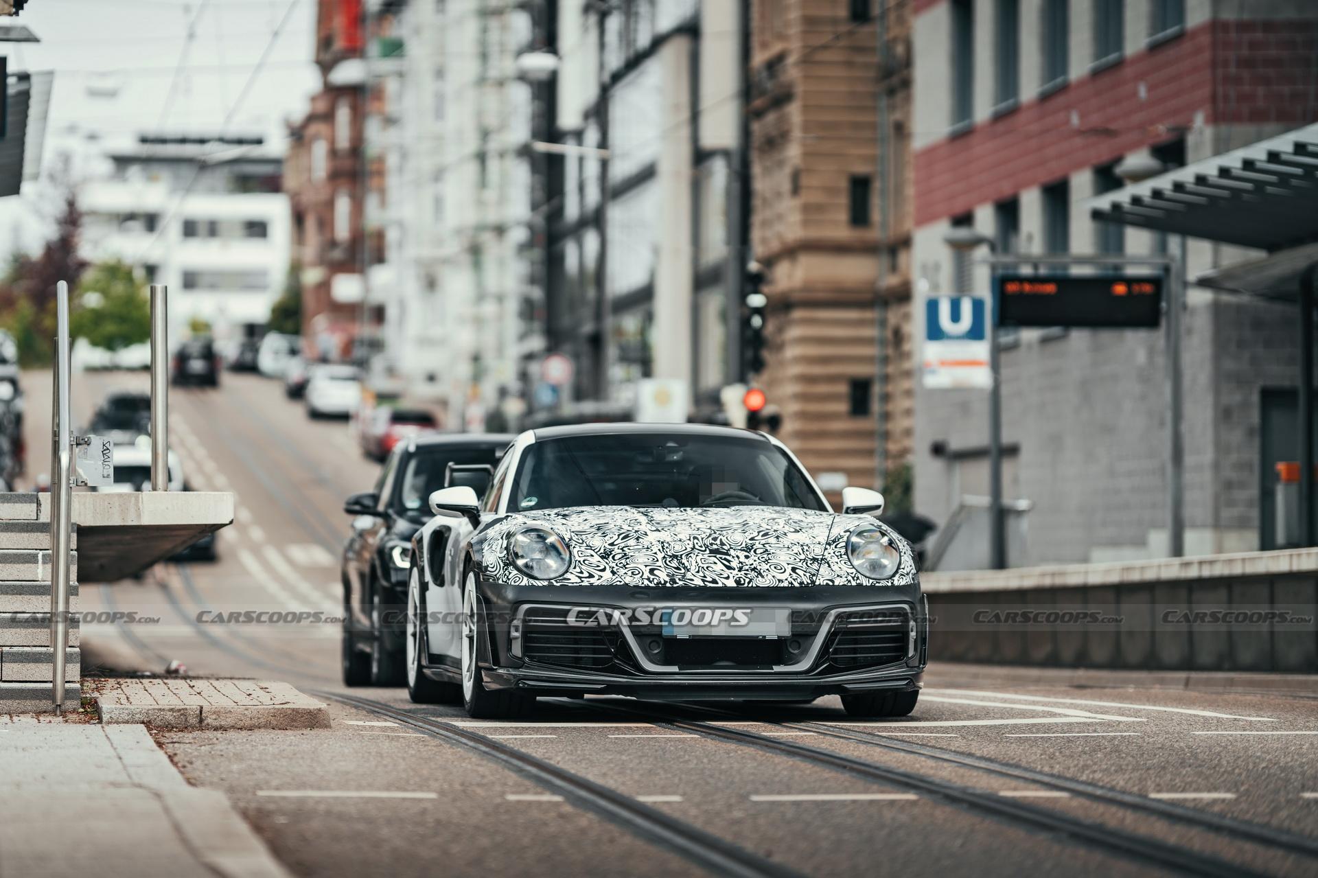 La Porsche 992 elaborata da TechArt