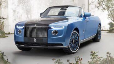 """Rolls-Royce Boat Tail: uno """"yacht di lusso"""" ma con le ruote"""