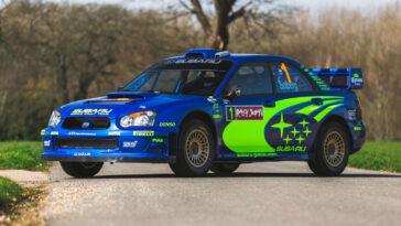 Subaru Impreza: l'esemplare da rally guidato da Solberg potrebbe essere venduto ad oltre 500 mila euro