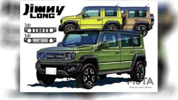 Suzuki Jimny: nel 2022 arriverà la versione 5 porte con paso lungo