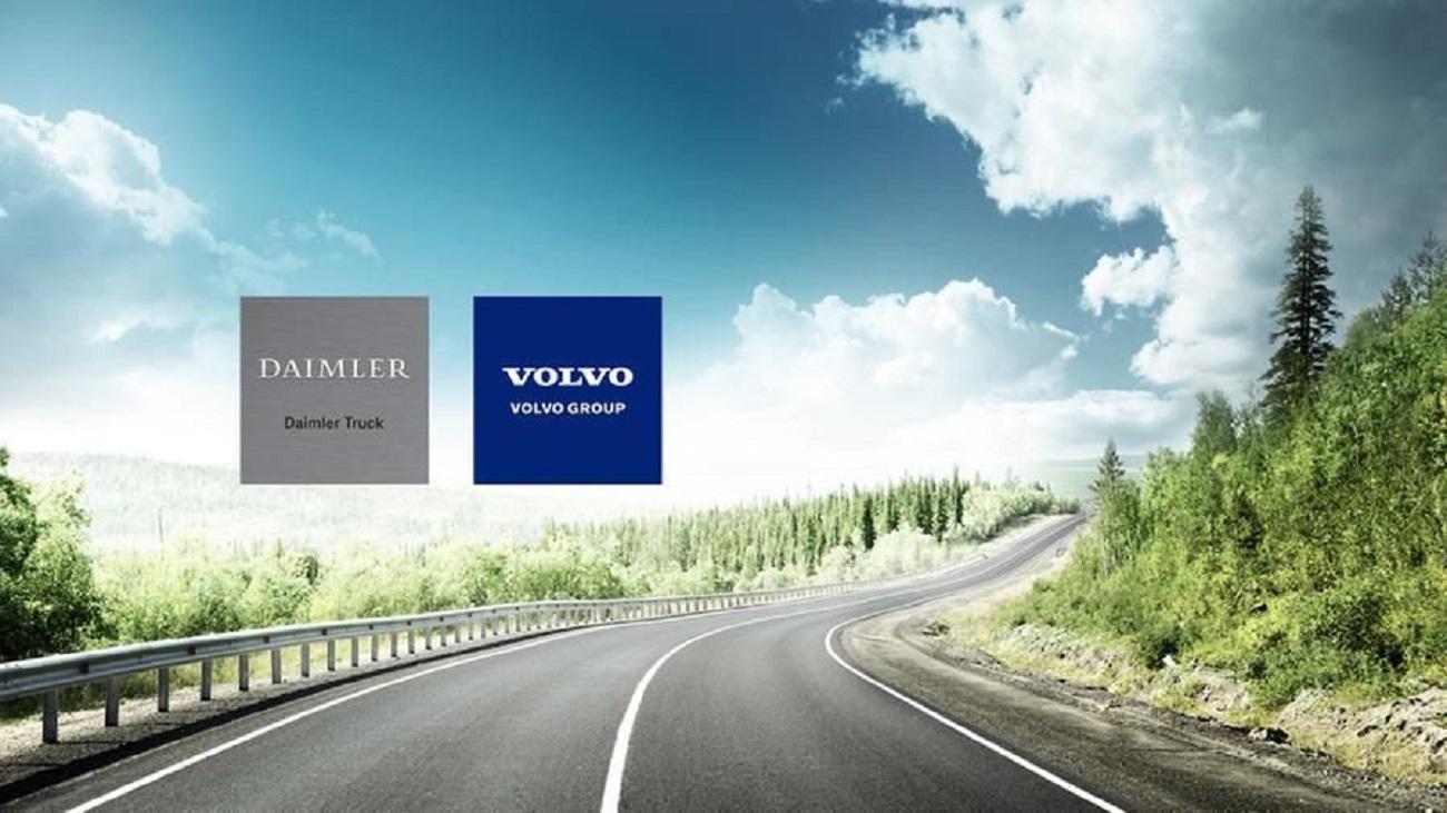 Volvo e Daimler preferiscono l'idrogeno rispetto alle auto elettriche per le lunghe percorrenze