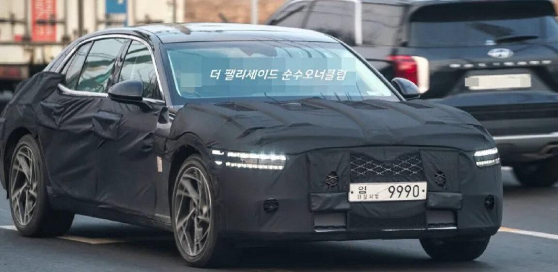 Genesis G90: nuove foto spia e nuovi rumors