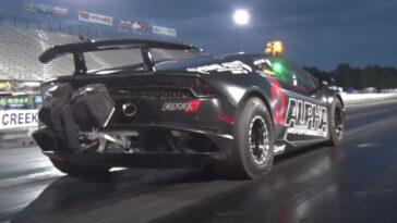 Questa Lamborghini Huracan ha 2000 cv ed è la più veloce al mondo. Nuovo Guinness