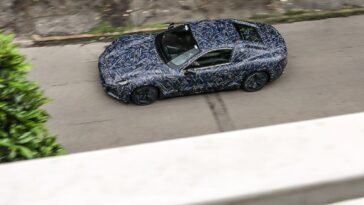 Maserati GranTurismo elettrica: ecco le foto spia durante le prove in pista