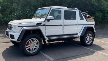 Mercedes Classe G: arriverà la versione cabrio