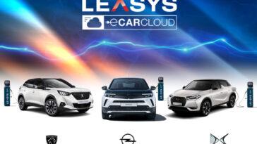 leasys lancia carcloud e nergy