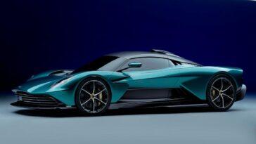 Aston Martin Valhalla: hypercar ibrida da 950 cv