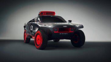 Audi RS Q e-tron: l'auto da rally estrema completamente elettrica