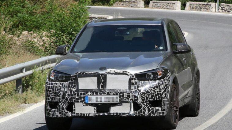 Nuova BMW X5 M avvistata per la prima volta