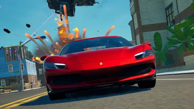 La Ferrari 296 GTB arriva su Fortnite