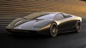 Lamborghini Countach 50 Concept: il render che rende omaggio alla leggendaria Countach