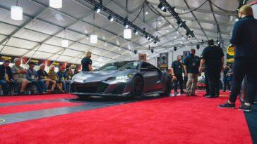 Acura NSX 2022: venduto il primo esemplare a 1 milione di dollari