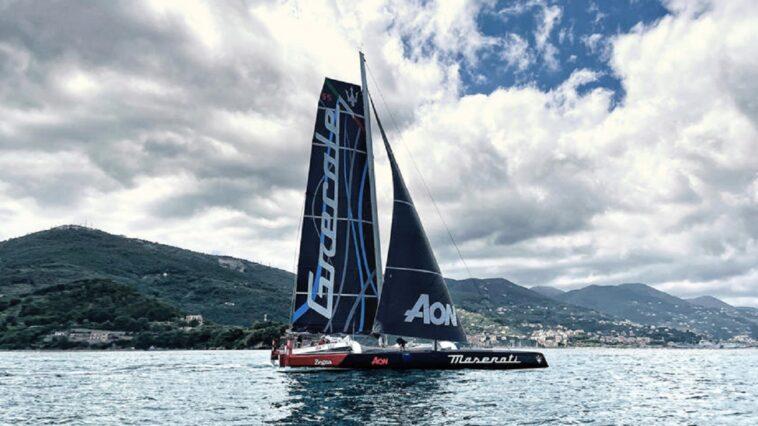 Maserati Grecale: il conto alla rovescia comincia con una barca a vela