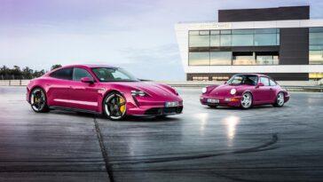 Porsche Taycan 2022: nuovi colori e nuova tecnologia in arrivo