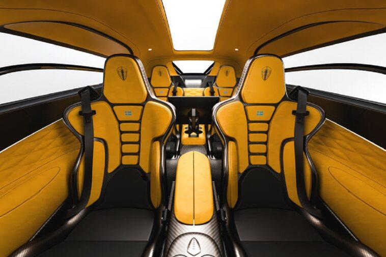 I sedili Koenigsegg Gemera dimostrano che l'azienda pensa a tutto