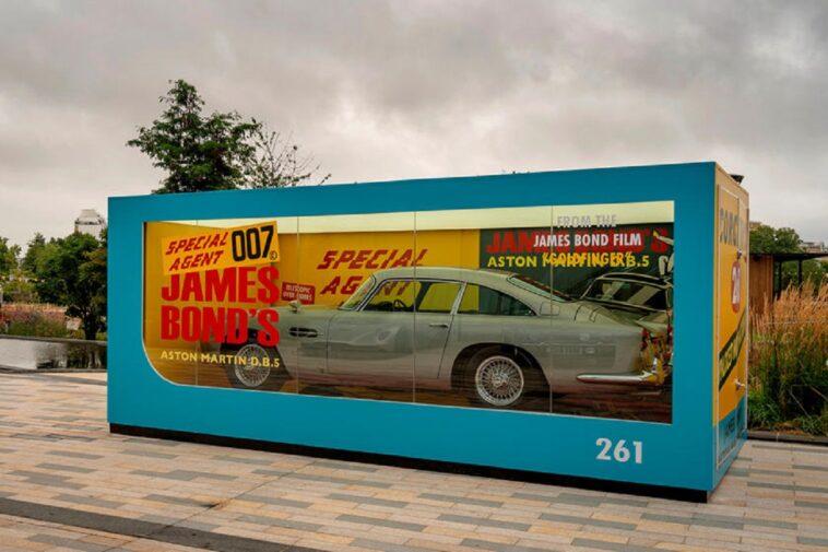 Aston Martin ricrea il giocattolo originale della DB5 di James Bond a grandezza naturale