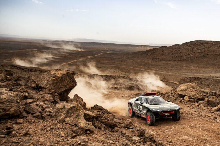 Audi RS Q e-tron: il prototipo elettrico per la Dakar in prova nel deserto del Marocco