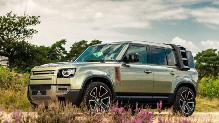 Land Rover Defender: arriva un nuovo look audace