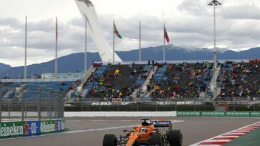 Lando Norris conquista la pole nel GP di Russia