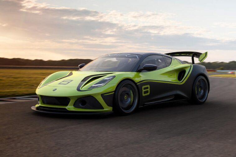 Lotus Emira GT4: ecco la versione da pista della Lotus