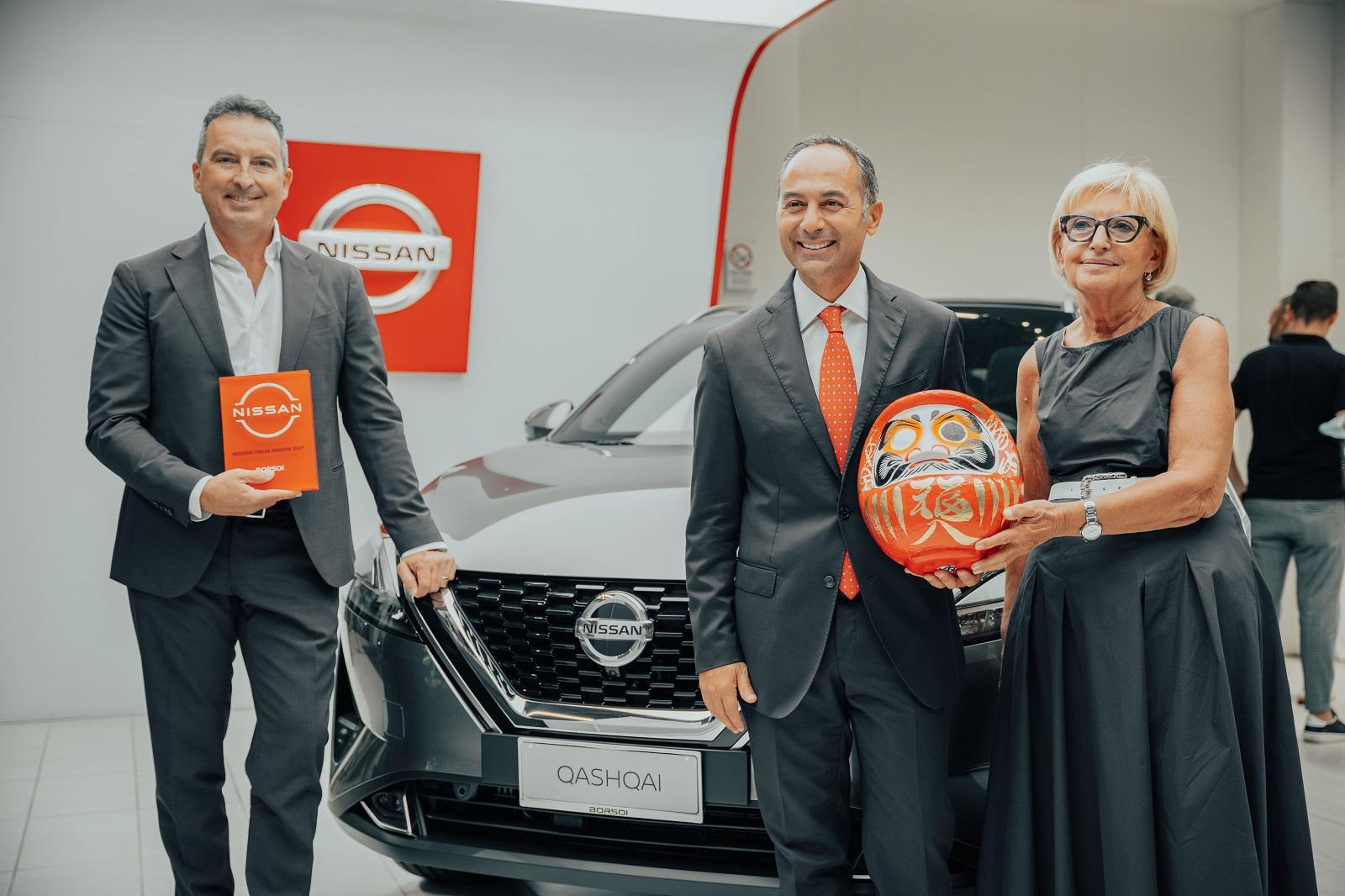 Nissan Italia Awards: il premio Nissan che va alle migliori concessionarie italiane