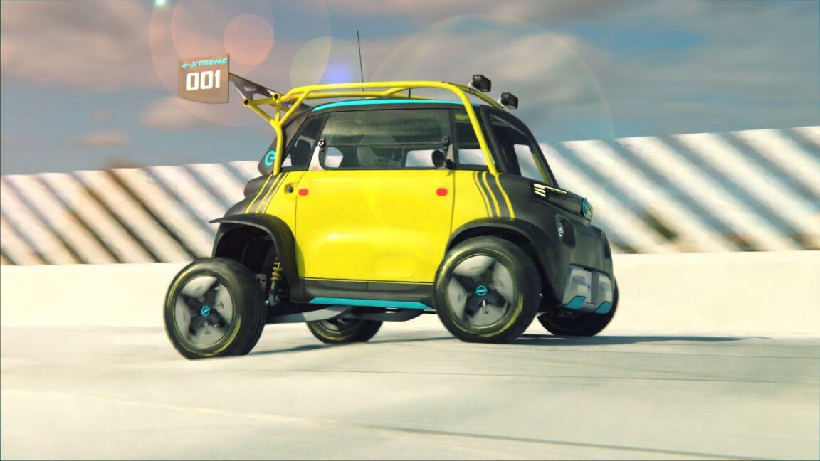 Opel Rocks E-xtreme: un render ne mostra la versione più estrema