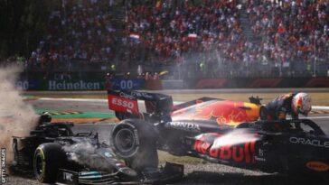 Ricciardo vince a Monza. Hamilton e Verstappen si toccano e sono OUT