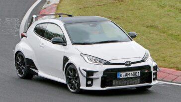 Una versione ancora più estrema della Toyota Yaris GR è stata vista al Nurburgring