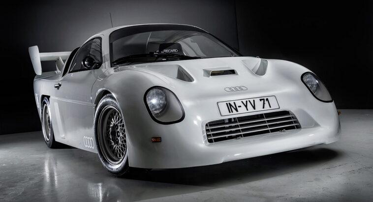 Ken Block è la sesta persona al mondo a guidare il prototipo da rally Gruppo S di Audi