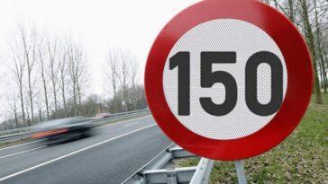 limite di velocità 150