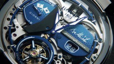 Pininfarina sfida Bugatti con un nuovo straordinario orologio