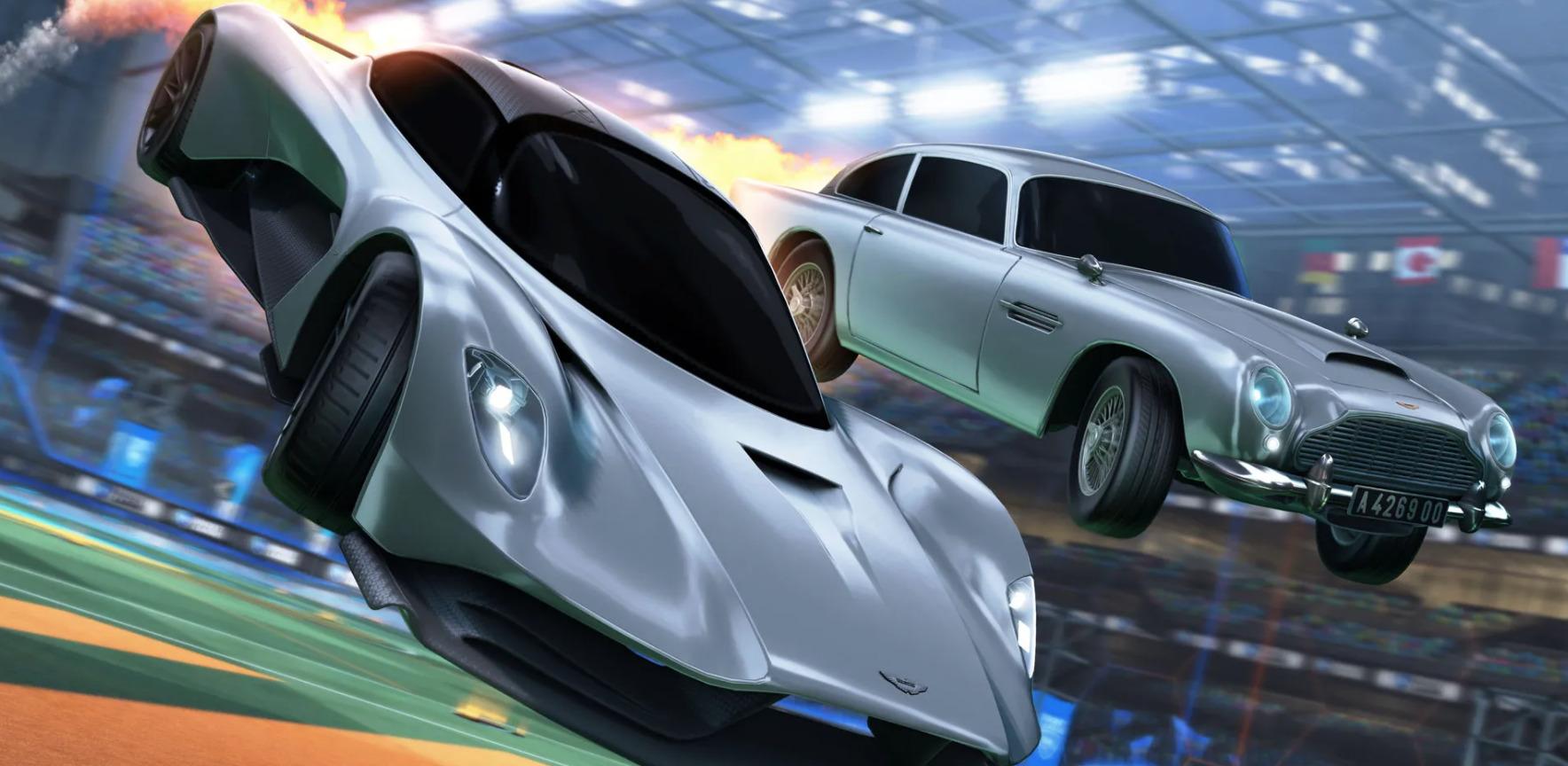 Aston Martin Valhalla e DB5 stanno arrivando su Rocket League come parte del suo pacchetto 007